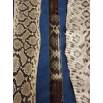 Custom Rattlesnake Inlay with Feather Weave Trim