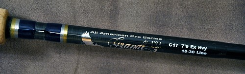 all american pro series, Fishing Reels
