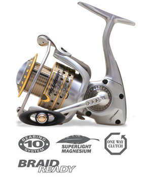 Pflueger Supreme MGX Series Fishing Reels
