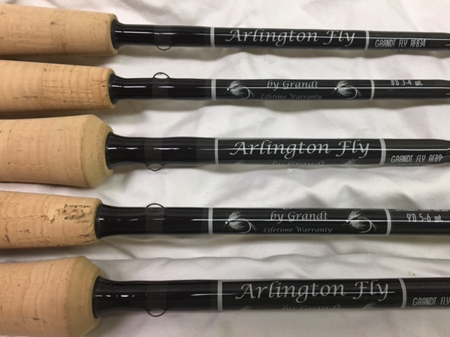 All American Pro Series Custom Graphite Fly Fishing Rods